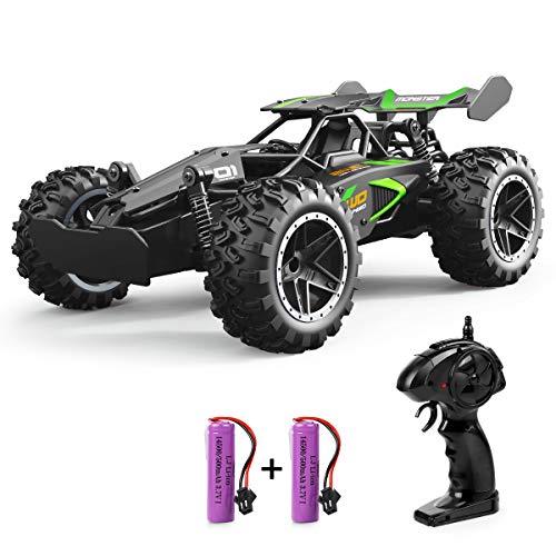 Outerman ferngesteuertes Auto, 15-20 km / h Hochgeschwindigkeits-RC-Spielzeug für Junge Erwachsene und Kinder, mit 2 wiederaufladbaren Lithiumbatterien, neues Typ 1:18 Verhältnis 2,4 GHz