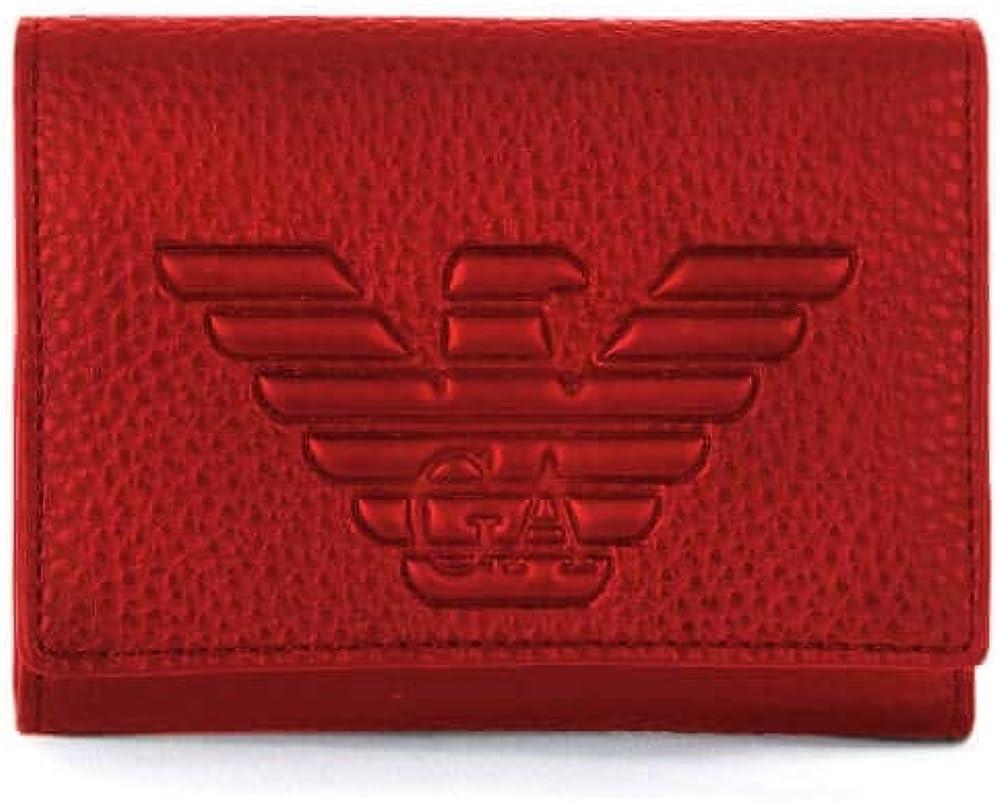 Emporio armani,portafoglio piccolo per donna,in ecopelle Y3H180-YGF8B-80133