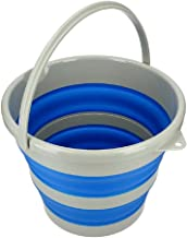 Flexus FC610 Collapsible Bucket, 15 L Blue/White
