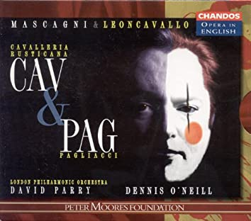MASCAGNI: Cavalleria Rusticana / LEONCAVALLO: Pagliacci (Sung in English)