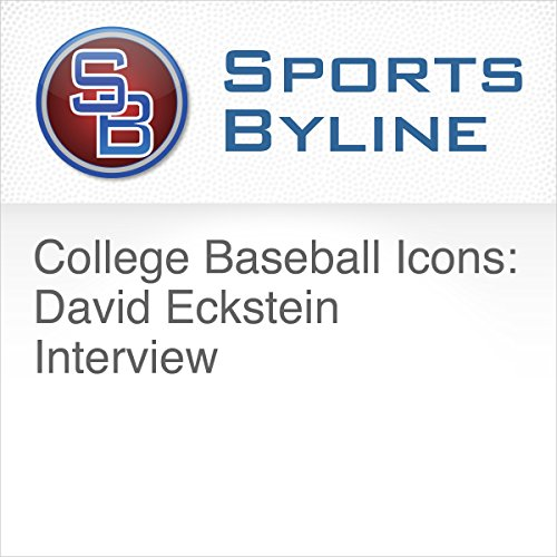 College Baseball Icons: David Eckstein Interview audiobook cover art