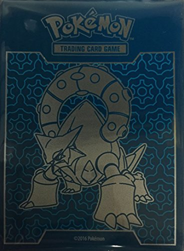 65 Volcanion Sleeves / Deck Protectors (for Pokemon Cards) From Steam Siege Elite Trainer Box
