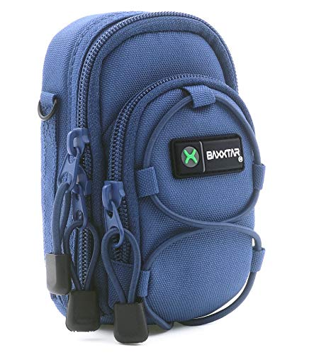 Baxxtar Bluestar V3 - Funda para cámara de Fotos compactas Color Azul