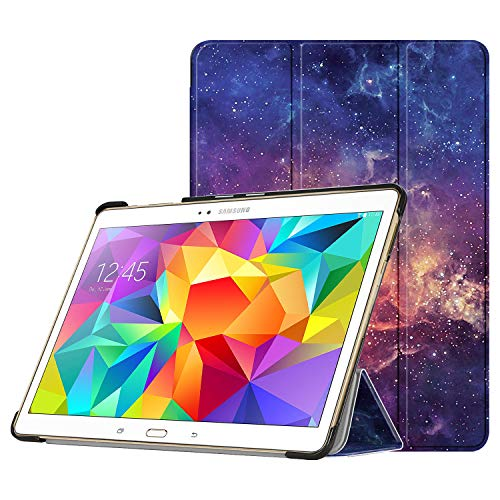 FINTIE SlimShell Case for Samsung Galaxy Tab S 10.5 (10.5-Inch) - Super Thin Lightweight Stand Cover with Auto Sleep/Wake Feature, Galaxy