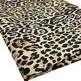 Guillala Stoff mit Leopardenmuster Braune Farbe Stoff mit