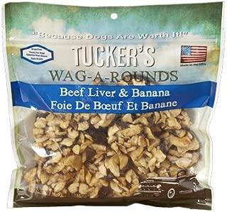 Tuckers Wag-A-Rounds Beef Liver & Banana Dog Treats