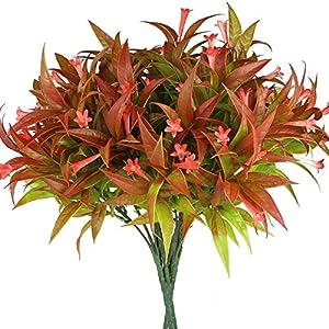 Silk Flower Arrangements Rinlong Outdoor Plants & Mixed Flowers