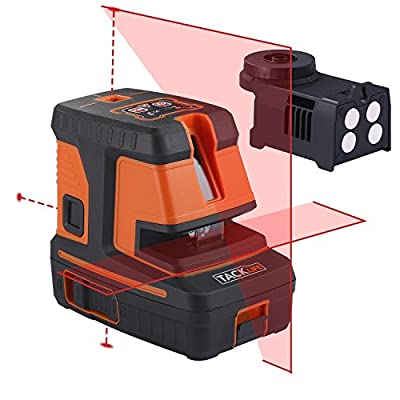 Laser Level, SC-L07 3 Mode Laser Level 50 Ft Self-Leveling Horizontal/Vertical Line and Cross-Line with Dual Laser Sources, Pulse Mode-Laser Class: Class 2 (IEC/EN60825-1/2014) <1mW power output