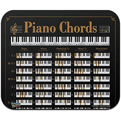 Klavier-Akkord-Musik-Niedriges Profil Verdünnen Mausunterlage Mousepad