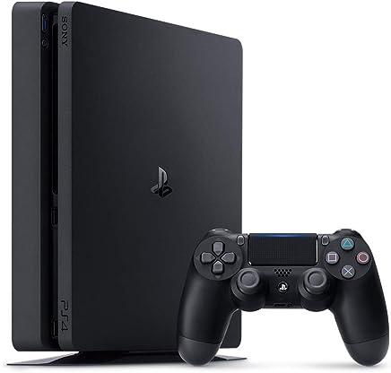 Sony PlayStation 4 Slim - 1TB, 1 Controller, Black