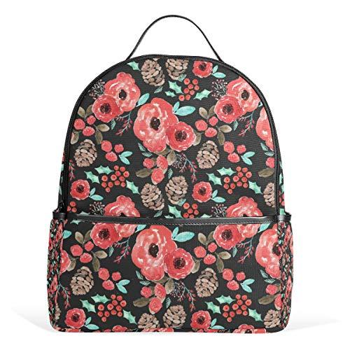 Indy Bloom Design Urlaub Cheer Rucksack für Männer Frauen Rucksack Schultertasche Daypacks Teenager Reisetasche Casual Daypack für Reisen