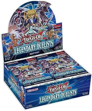 yu-gi-oh kon546659Legendario Cartas Caja de Arranque con 36Paquetes