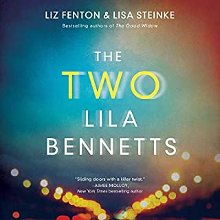 The Two Lila Bennetts audiobook cover art