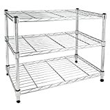 Simple Deluxe HKSHLF23132003C Heavy Duty 3-Shelf Shelving Unit, 24' D x 14'W x 20' H, 24' x 14' x 20'', 3 Tier