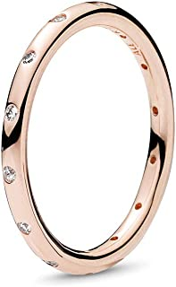 Droplets Rose Gold Ring