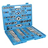 110 Piece Metric and SAE Standard Tap and Die Bearing Steel Titanium Tools Set Amazing Tour