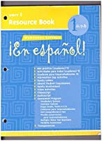 McDougal Littell ¡En Español!: Unit Resource Book Unit 1 Level 1 0618304320 Book Cover