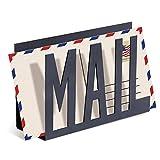 MyGift - Porta lettere in metallo moderno Small Mail (nero)...