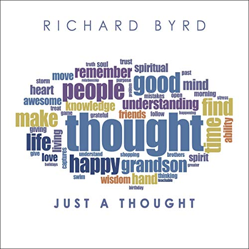 Just a Thought audiobook cover art