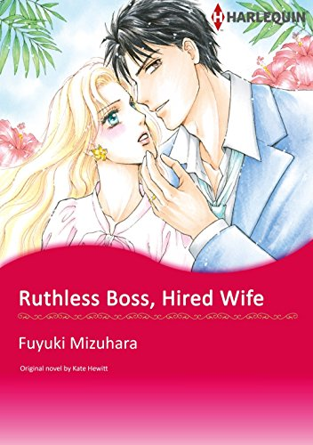 Ruthless Boss, Hired Wife: Harlequin comics (English Edition)