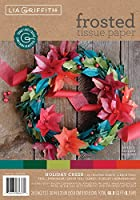 Frosted Tissue Paper 24/Pkg-Holiday Cheer