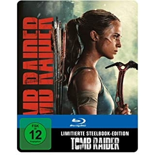 Tomb Raider - [Blu-ray] - SteelBook