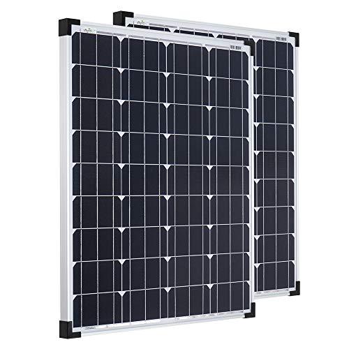 Offgridtec Sparbundle 2 Stk. Monkristallines Solarpanel 001275 80W 12V