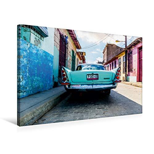 Calvendo Premium Lienzo 75 cm x 50 cm horizontal, un motivo del calendario de impresión cubana imagen sobre bastidor, listo en lienzo auténtico, lienzo, lugares