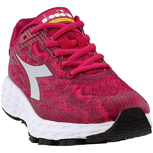 Diadora Womens M.Shindano 7 Running Casual Shoes, Pink, 11