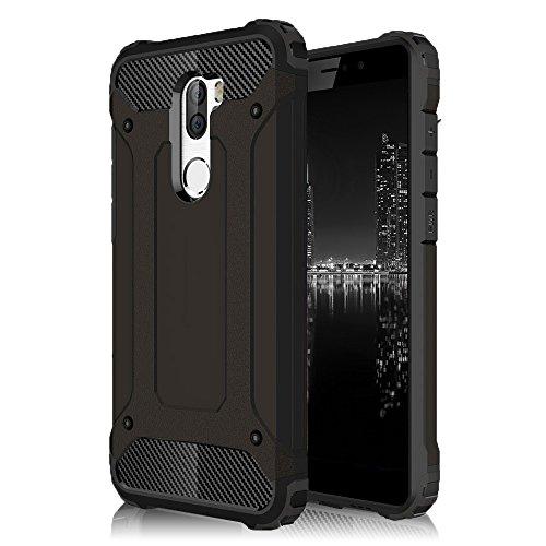 Beschermhoes case voor Xiaomi Mi Mix | ZWART hybride design TPU hard plastic cover tas schaal Full Armor 360