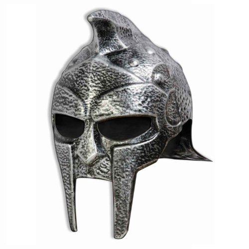 MyPartyShirt Guerrero para Hombre del Casco de Gladiador Romano Adulto Sombrero de Troya Russell Crowe Máximo