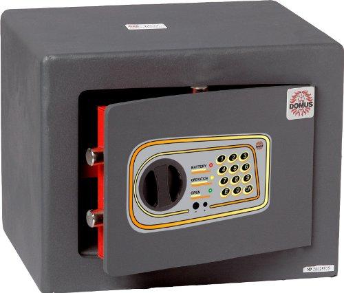 Domus ML/4 Cassaforte a Mobile, Serratura Elettronica, Grigio Scuro