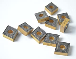 10PCS CNMG 431-PM 4225 / CNMG 120404-PM 4225 Milling Carbide Cutting Inserts For CNC Lathe Turing Tool Holder Boring Bar