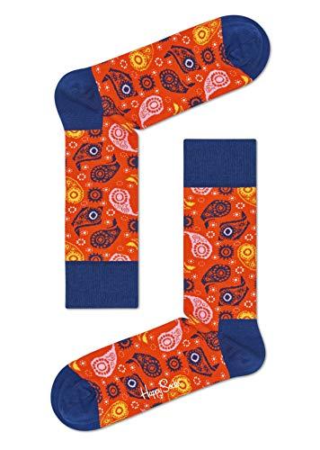 Happy Socks, bunt klassische Baumwolle Socken für Männer und Frauen, House In The Hills (36-40)