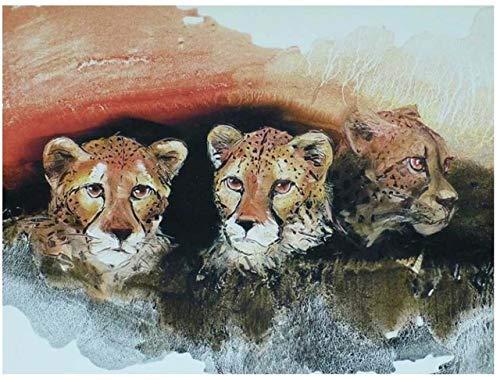 Diamante mosaico pintura cabras rhinestone perla bordado animal diamante arte dibujar imagenpapel de pared decoración para el hogar
