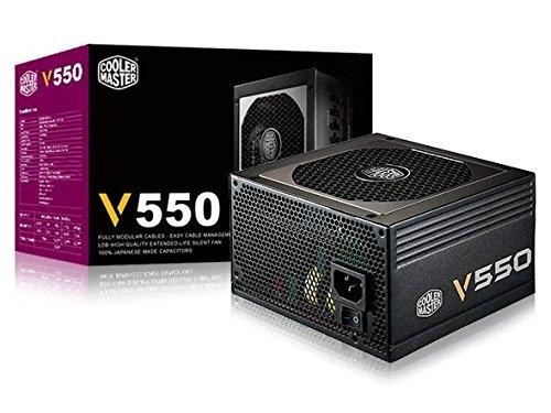 Cooler Master V550 Alimentatore 'Modulare, 80 Plus Gold, 550W' RS550-AFBAG1-EU