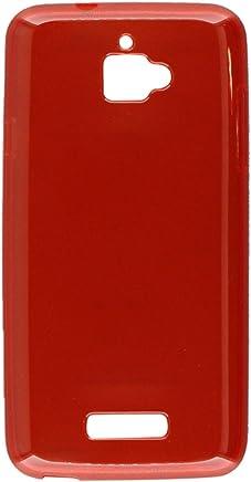 HRWireless HR inalámbrico Teléfono Celular Caso para Coolpad Catalyst, Color Rojo