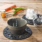 luxdag Filzuntersetzer für Gläser, Schalen oder Vasen, dunkelgrau (Farbe & Größe wählbar) - 4