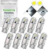 TUINCYN T10 W5W Super hell Weiße Glühlampe Packung mit 10 Stück