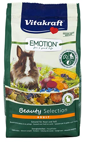 Vitakraft Emotion BeautySel. Adult Zwergkaninchen 5 x 600g