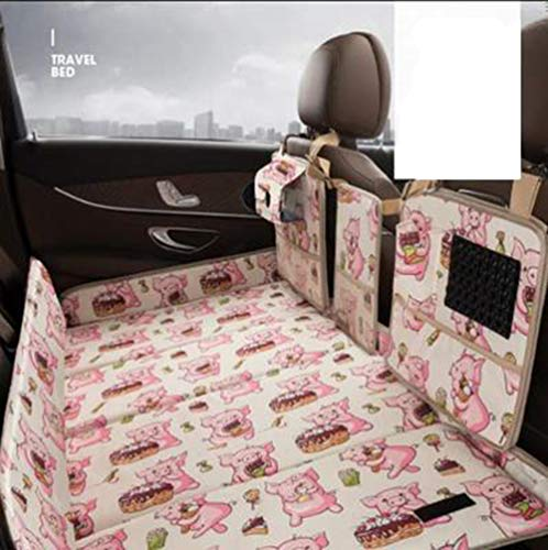 Explosive Auto Reisebett Hinteren Reihe Falten Nicht Aufblasbare Auto Isomatte Auto Schlafmatte 140 * 85 * 3 cm,1