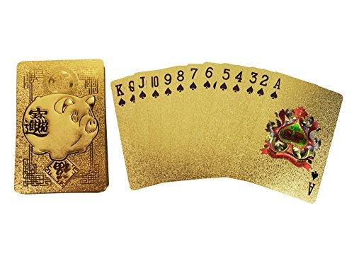 Spreezie Gold/Silver Playing Cards …