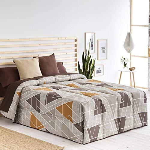 Confecciones Paula - Edredón conforter Vigo - Cama 150Cm - Color Beig