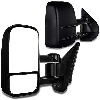 Autodayplus Scitoo Side Mirror for Chevy/GMC Silverado/Sierra Telescoping Towing Mirror Pair Set (for 99-07 Silverado/Sierra(07 Classic))