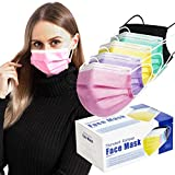 50 Pcs Multi-Colored Face Masks...