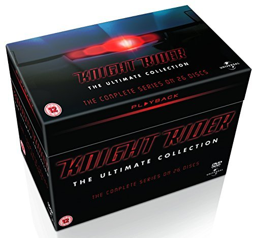 K 2000 / Knight Rider (Complete Series) - 26-DVD Box Set ( Knight Rider - Ultimate Collection (Seasons 1-4) ) [ Origine UK, Sans Langue Francaise ]