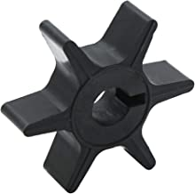 uxcell Boat Outboard Water Pump Impeller Black for Chrysler Force 9.9 15hp 47-F436065-2