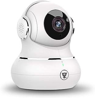 Überwachungskamera, Littlelf WLAN IP Kamera 1080P HD WiFi Kamera mit 360°Schwenkbare..