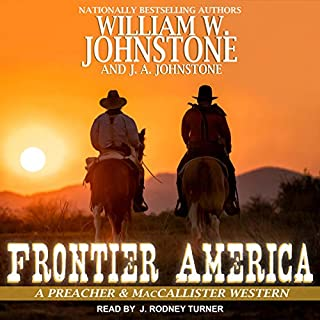 Frontier America audiobook cover art