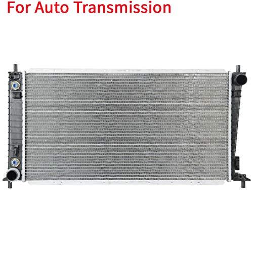 Deebior Automatic Transmission 56mm Core Aluminum/Plastic Radiator Compatible...